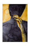 Yellow Hand -The Dirty Yellow Series Giclee Print by Graham Dean