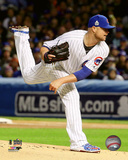 Jon Lester Game 5 of the 2016 World Series Photo