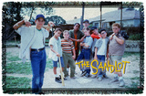 The Sandlot - Squad Woven Throw Throw Blanket