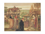 The Holy Family - the Adoration of the Magi, 1911 Giclee Print by John Riley Wilmer