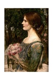 The Bouquet, C.1908 Giclee Print by John William Waterhouse