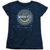 Womens: Moon Pie- Snowflake Logo Button T-shirts