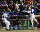 Anthony Rizzo & David Ross Game 5 of the 2016 World Series Photo