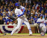 Jorge Soler Triple Game 3 of the 2016 World Series Photo