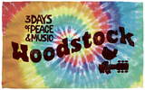 Woodstock - Tie Dye Beach Towel Beach Towel