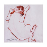 Pug Puppy 1, 2005 Giclee Print by Joan Thewsey