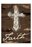 Faith Cross Posters by Jace Grey