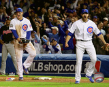 Anthony Rizzo & Justin Grimm Game 3 of the 2016 World Series Photo