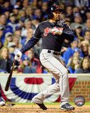 Coco Crisp RBI Single Game 3 of the 2016 World Series Photo