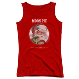 Juniors Tank Top: Moon Pie- Snacks For Santa Shirt