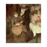 The Message, 1890 Giclee Print by Henry Scott Tuke
