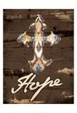 Hope Cross Art by Jace Grey