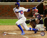 Dexter Fowler Home Run Game 4 of the 2016 World Series Photo