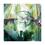 Reflected (Mangroves) Giclee Print by Charlotte Evans
