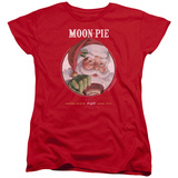 Womans: Moon Pie- Snacks For Santa T-Shirt