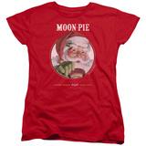 Womens: Moon Pie- Snacks For Santa T-Shirt