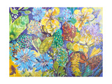 Exotic Garden Giclee Print by Margaret Coxall