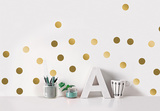 Golden dots / Pois dorés Autocollant