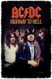 AC/DC - Highway to Hell Woven Throw Throw Blanket