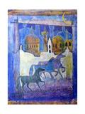 Arabian Horses Giclee Print by Margaret Coxall