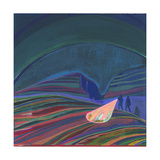 Night Light Giclee Print by Charlotte Evans
