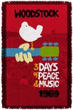 Woodstock - Classic Woven Throw Throw Blanket
