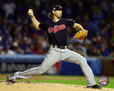Josh Tomlin Game 3 of the 2016 World Series Photo