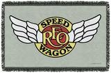 REO Speedwagon - Speedwagon Logo Woven Throw Throw Blanket