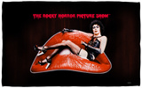 Rocky Horror Picture Show - Frank Lips Beach Towel Beach Towel