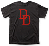 Daredevil- Reddouble D Logo T-shirts