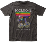 The Scorpions- Fly To The Rainbow Distreesed Album Art T-Shirts