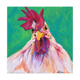 Chicken Prints by Anne Seay