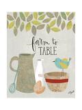 Farm to Table Reproduction giclée Premium par Katie Doucette