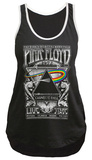 Juionrs Sport Tank: Pink Floyd- Distressed Carnegie Hall '72 Bulletin Womens Tank Tops
