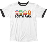 South Park- Lineup Ringer Shirts