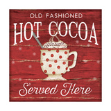 Hot Cocoa Served Here Prints by Jennifer Pugh
