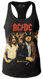 Juniors Tank Top: AC/DC- Highway To Hell Cover Damen-Trägerhemden