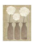 Hydrangeas in Jars Reproduction giclée Premium par Katie Doucette