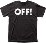 Off!-- Distressed Logo T-shirts