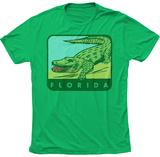 Florida Smiling Gator Skjorte