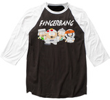 South Park- Fingerbang Raglan T-Shirts