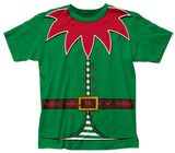 Holly Jolly Elf Costume Tee T-Shirt