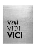 Veni Vidi Vici Poster por Tara Moss