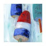 Boys Nautical Buoys Art by Pamela J. Wingard