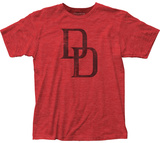 Daredevil- Distressed Double D Logo T-shirts