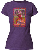 Juniors: Janis Joplin- Avalon Ballroom Poster T-Shirts