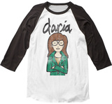 Daria- Distrressed Character Profile T-Shirts