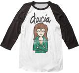 Daria- Distrressed Character Profile Tshirts