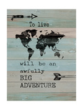 Adventure Posters by Jo Moulton