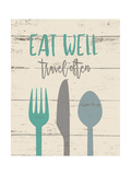 Eat Well Prints by Jo Moulton